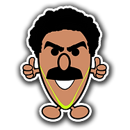MM0072 Mr Borat 3x3 inch square.png