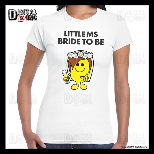 Little Ms Bride To Be T-Shirt