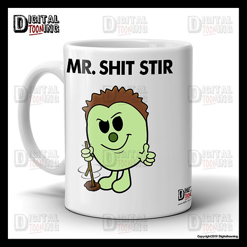 Mr Shit Stir Mug