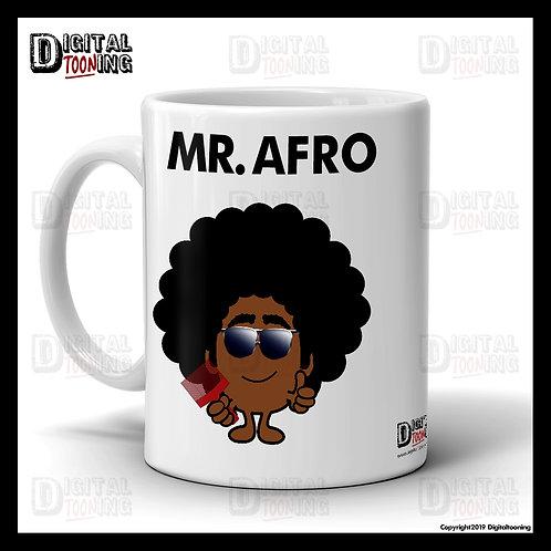 Mr Afro Mug
