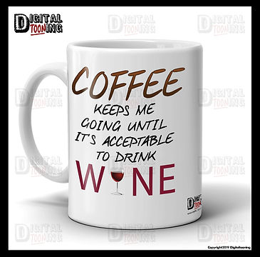 OM0003-MG - Coffee Keeps Me Going - Ebay