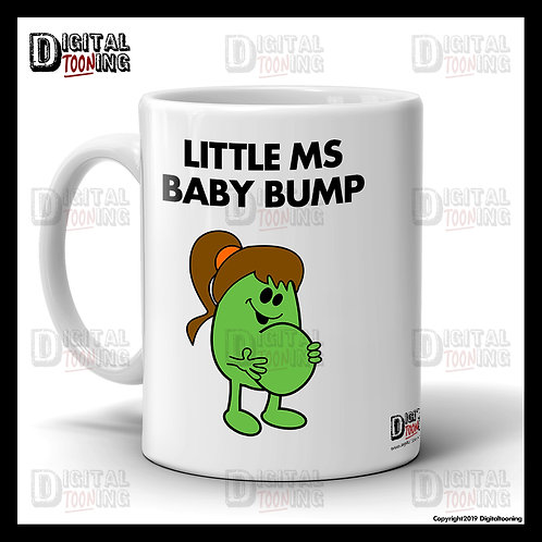 Little Ms Baby Bump Mug