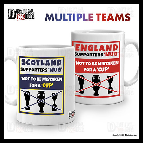 Supporters Mug - Not to be mistaken for a Cup
