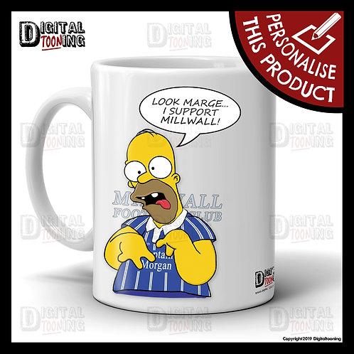 Special Homer - Millwall Mug