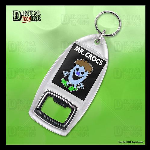 Mr Crocs Keyring + Bottle Opener