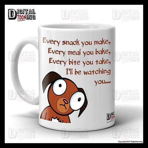 I'll Be Watching You Mug