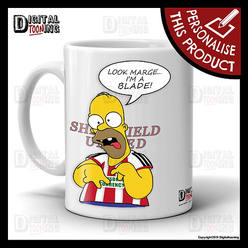 Special Homer - Sheffield United Mug