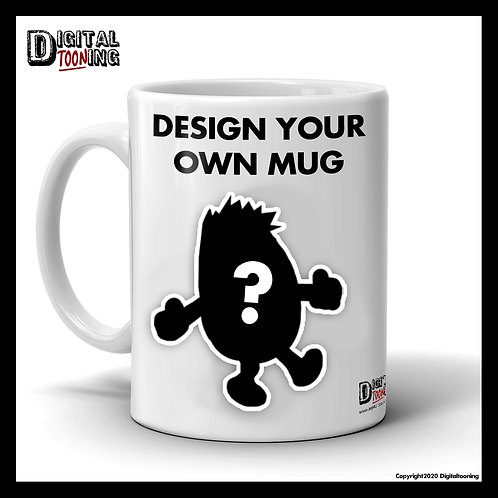 Design your own 'Mr' Mug