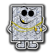 MM0018 Mr Bling 3x3 inch square.png