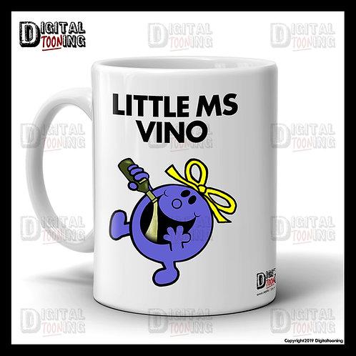 Little Ms Vino Mug