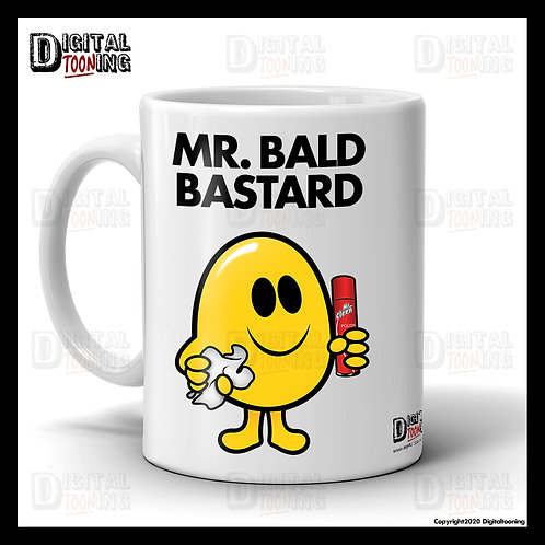 Mr Bald Bastard Mug