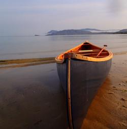 Cheemaun Wood and Canvas Canoe