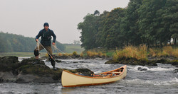 Atkinson Traveller Wood and Canvas Canoe