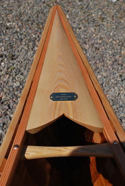 Cedar Canvas Canoe