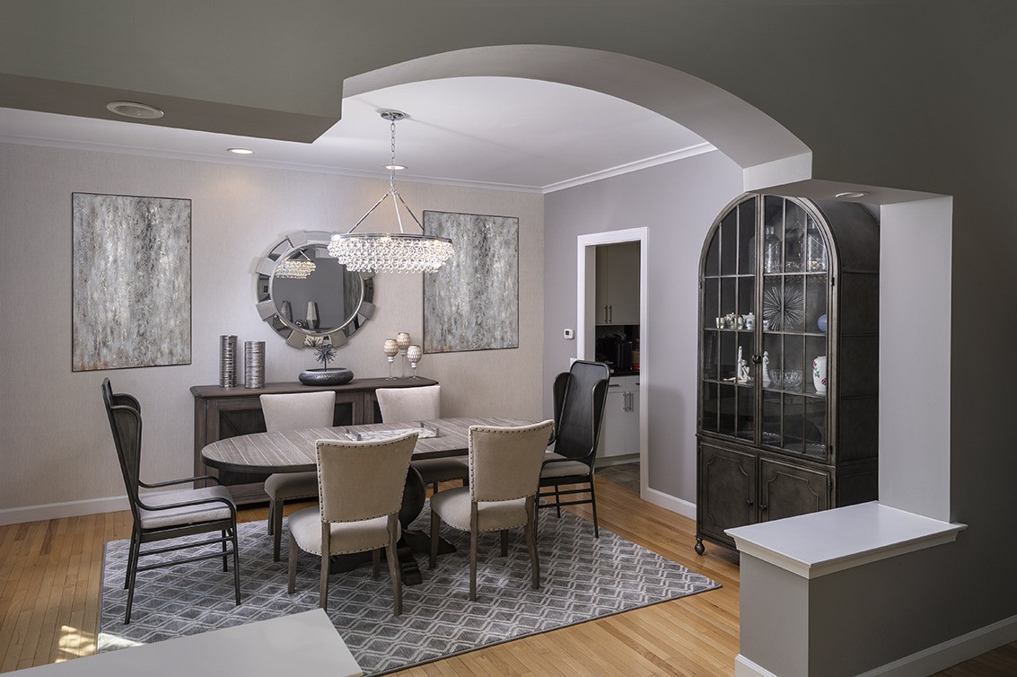 Medford, NJ: Modern Transitional Dining Room & Entry