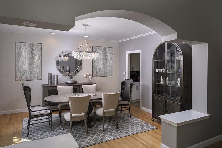 Medford, NJ: Modern Transitional Dining Room & Entry