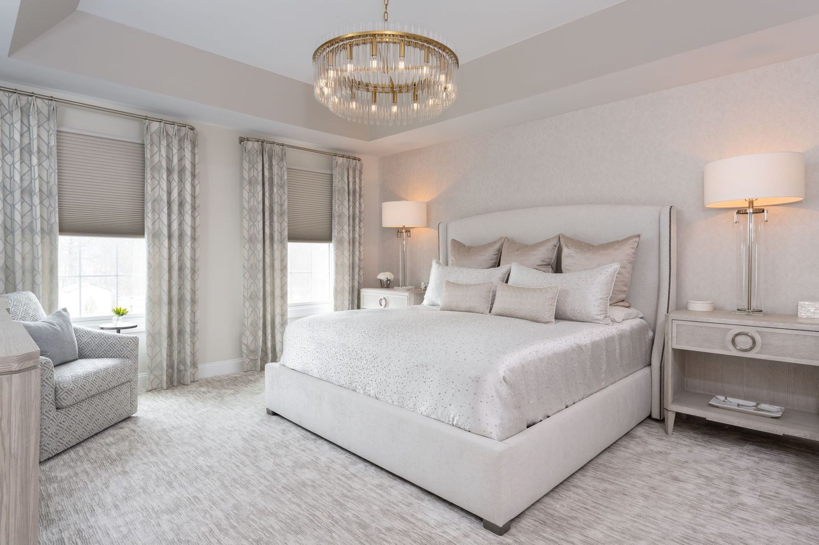Lower Gwyneed, PA: Luxury Master Bedroom