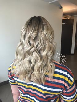 Blonde root melt