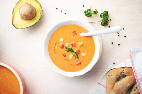 Swati Desai Food Styling for Soups