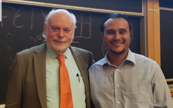 Honored to meet with Sir Prof. Fraser St