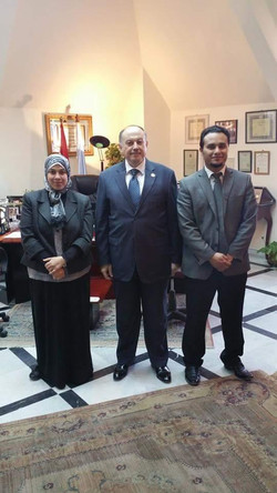 Essam Khamis Vice Minister of Higher Education & Sci. Research, Fac of Sci., Chem. Dep., Alexandria