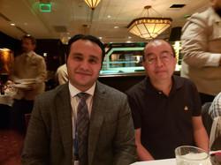 Nice Dinner with Prof. Hongcai (Joe) Zho