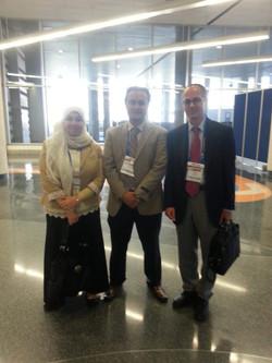 ACS meeting 2013/Prof. Omar Yaghi, Prof. Mona Mohamed