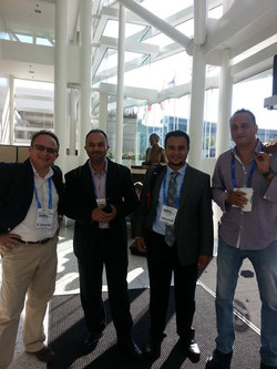 ACS Fall meeting 2014. Prof. Farha, Prof. Eddaoudi