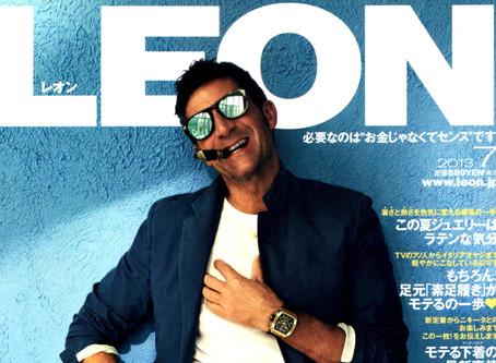 『LEON』2013年7月号