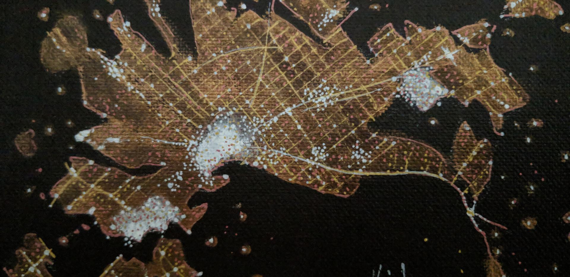 "Melbourne 5"" x 7"" acrylics"