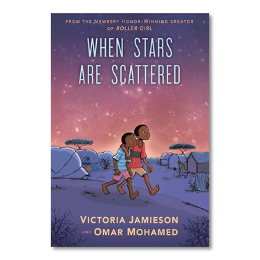 When Stars are Scattered (graphic novel) by Omar Mohamed