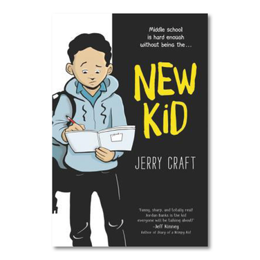 NEW KID (graphic novel) by Jerry Craft