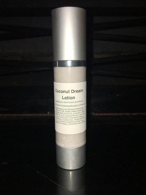 50 mil Coconut Dream Soapberry Lotion