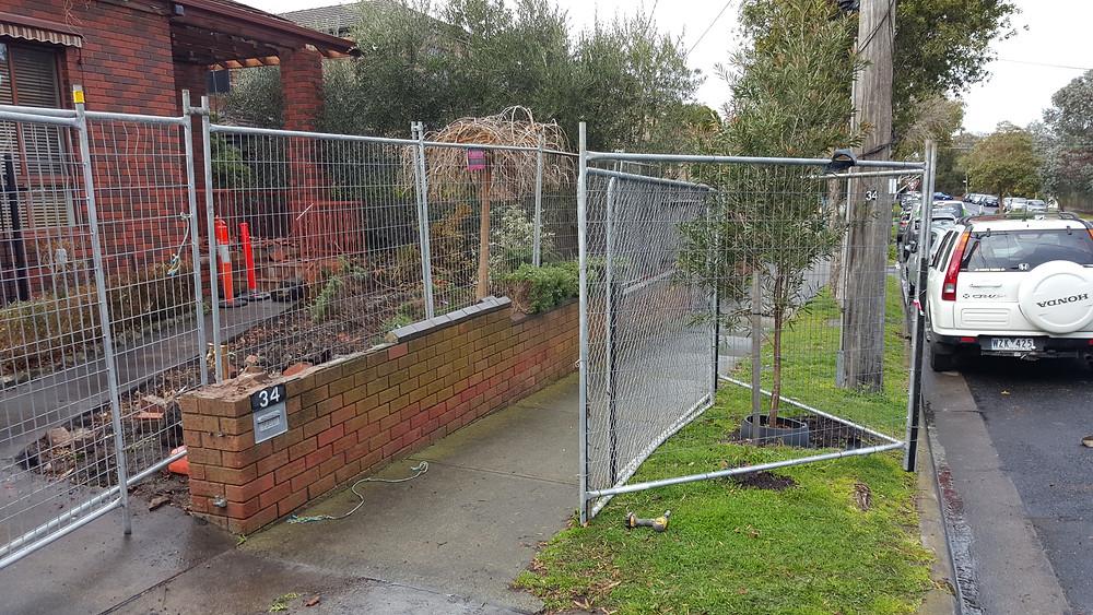 Temp fence hire Hampton