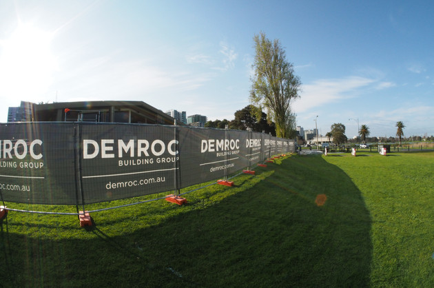 Albert Park Temp Fence Hire