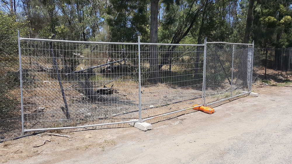 Temporary Fencing Hire Heatherton - After Installation