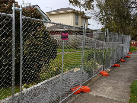 Melbourne - Temporary Fencing Hire by ANAJAK