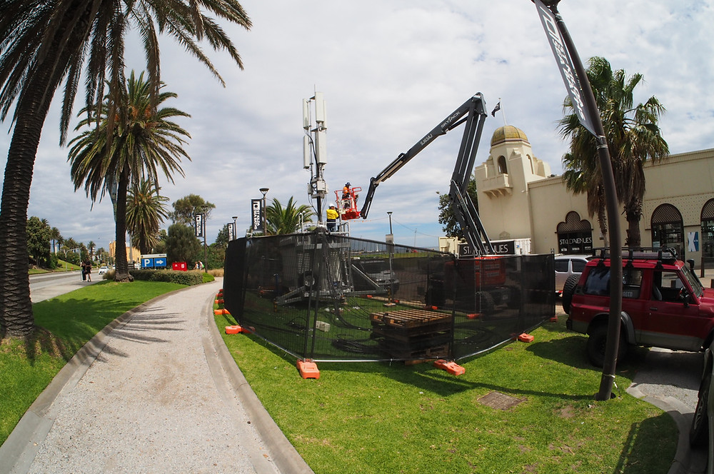 Temporary fencing hire in St Kilda , 3182