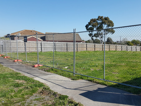 Temp Fence Hire in Springvale