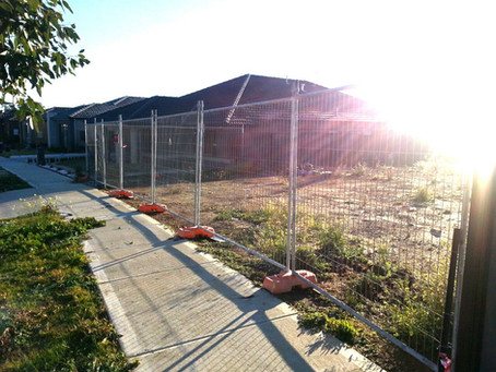 Hiring temporary fencing in Melbourne's COVID hotspots