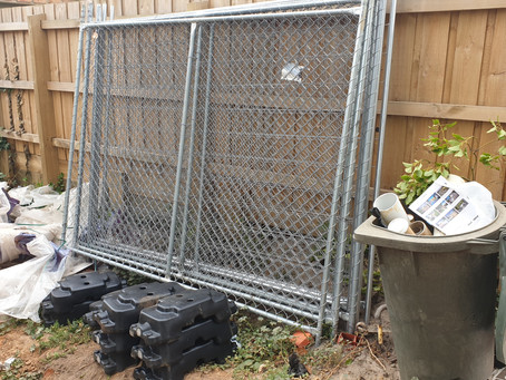 Cheap temporary fencing hire delivered Melbourne wide