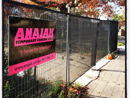 ANAJAK Temporary Fencing  Blog LIVE!