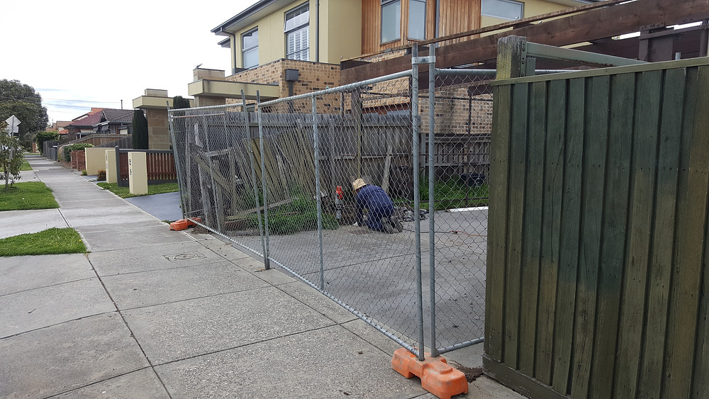 Temporary fencing hire essendon