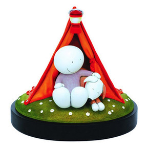 Doug Hyde - Happy Campers Sculpture