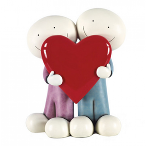 Doug Hyde - Love You This Much II - Large Sculpture