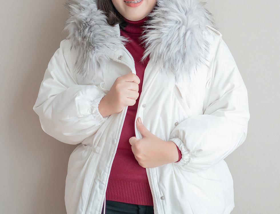 เช่าเสื้อขนเป็ดยาว หญิง รุ่น CHUBU (FH1) | DJABOWH