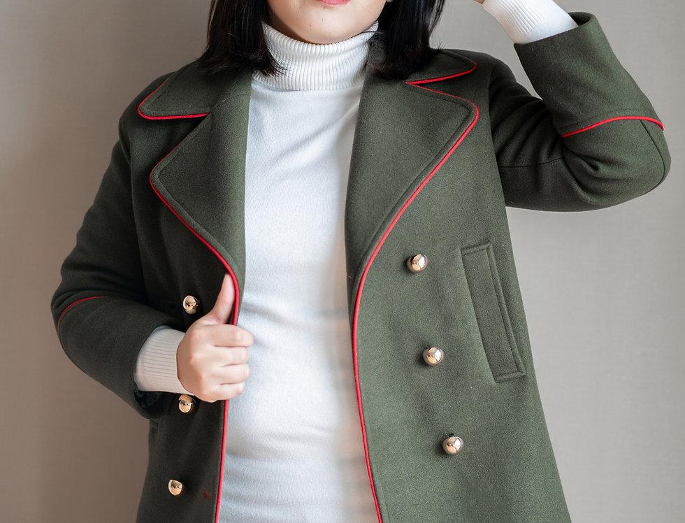 เช่าโค้ทวูลยาว หญิง รุ่น LOCKER | WCANNGR