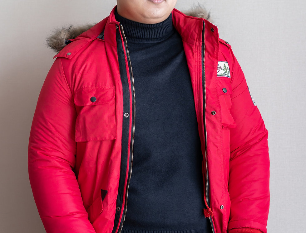 เช่าเสื้อขนเป็ดยาว ชาย รุ่น AMBER (H1 , FH1) | DJLORD