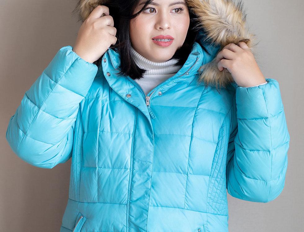 เช่าเสื้อขนเป็ดสั้น หญิง รุ่น FINLAND (H1)  | DJABRLB