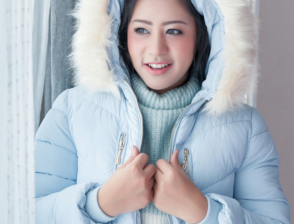 เช่าเสื้อขนเป็ดยาว หญิง รุ่น BELGIUM (FH1) | DJABMLB